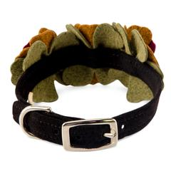 Autumn Flowers Collar