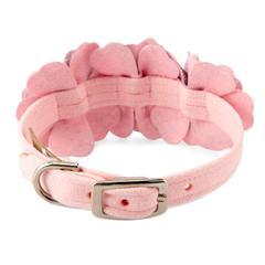 Scotty Collar Puppy Pink Plaid