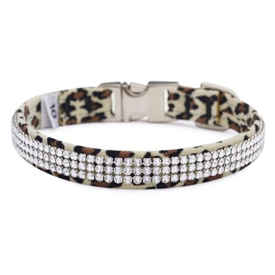 Cheetah Light 3 Row Giltmore Perfect Fit Collar