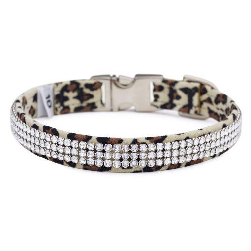 Cheetah Light 3 Row Giltmore Perfect Fit Collar