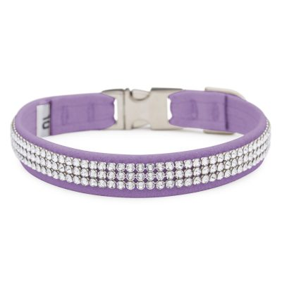 French Lavender 3 Row Giltmore Perfect Fit Collar