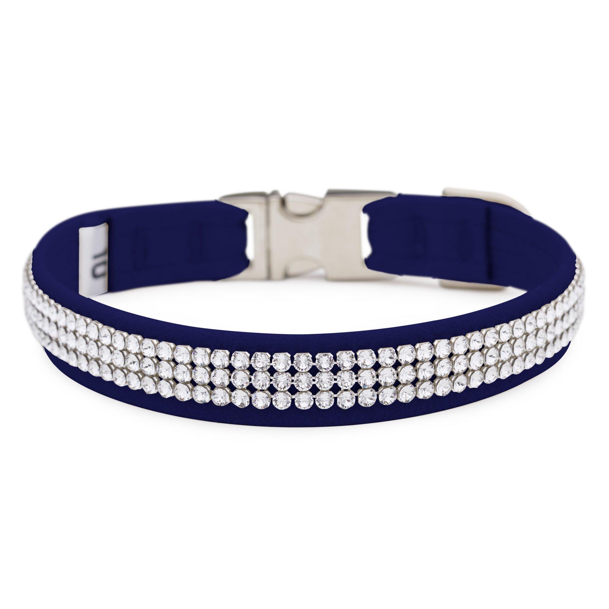 Indigo 3 Row Giltmore Perfect Fit Collar