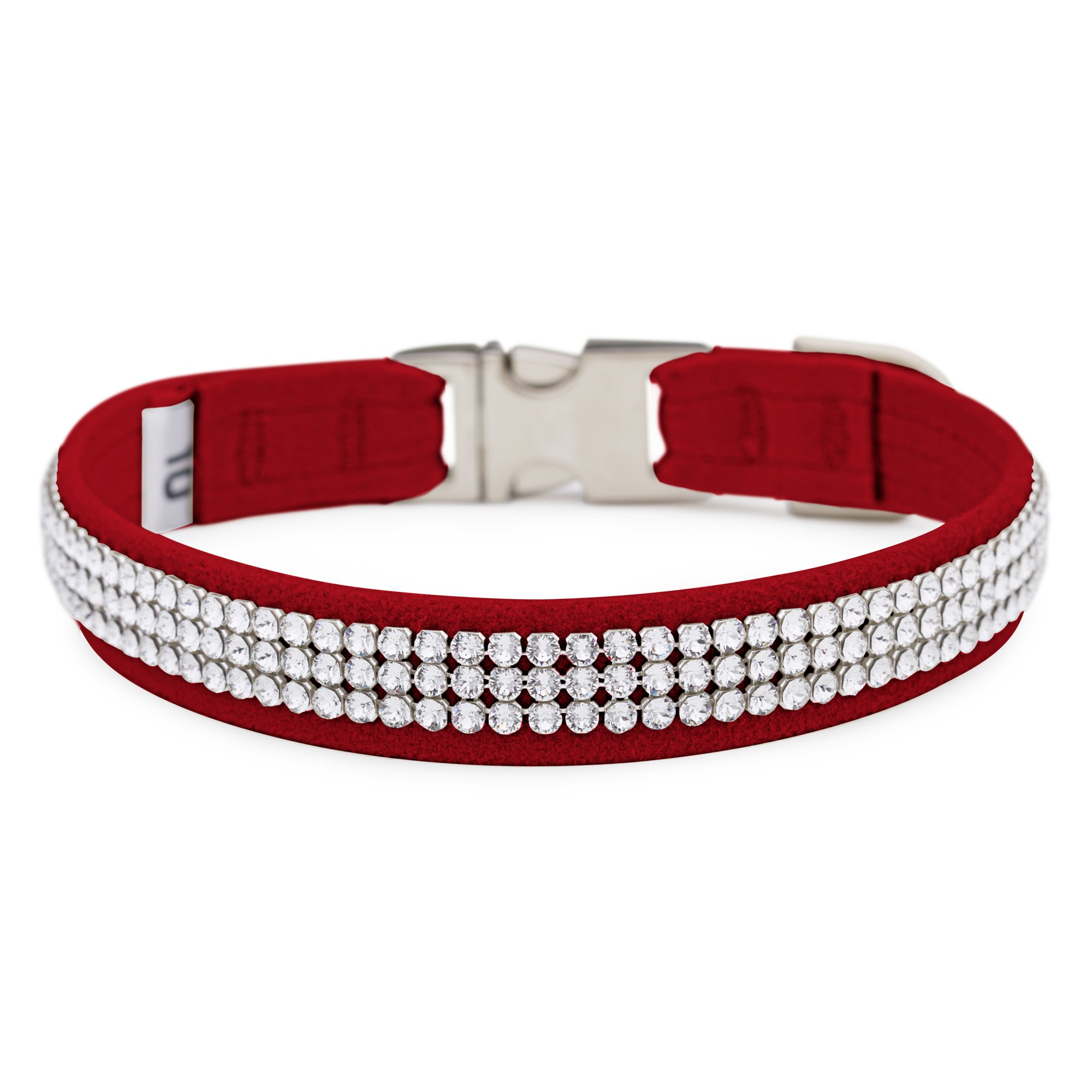 Red 3 Row Giltmore Perfect Fit Collar