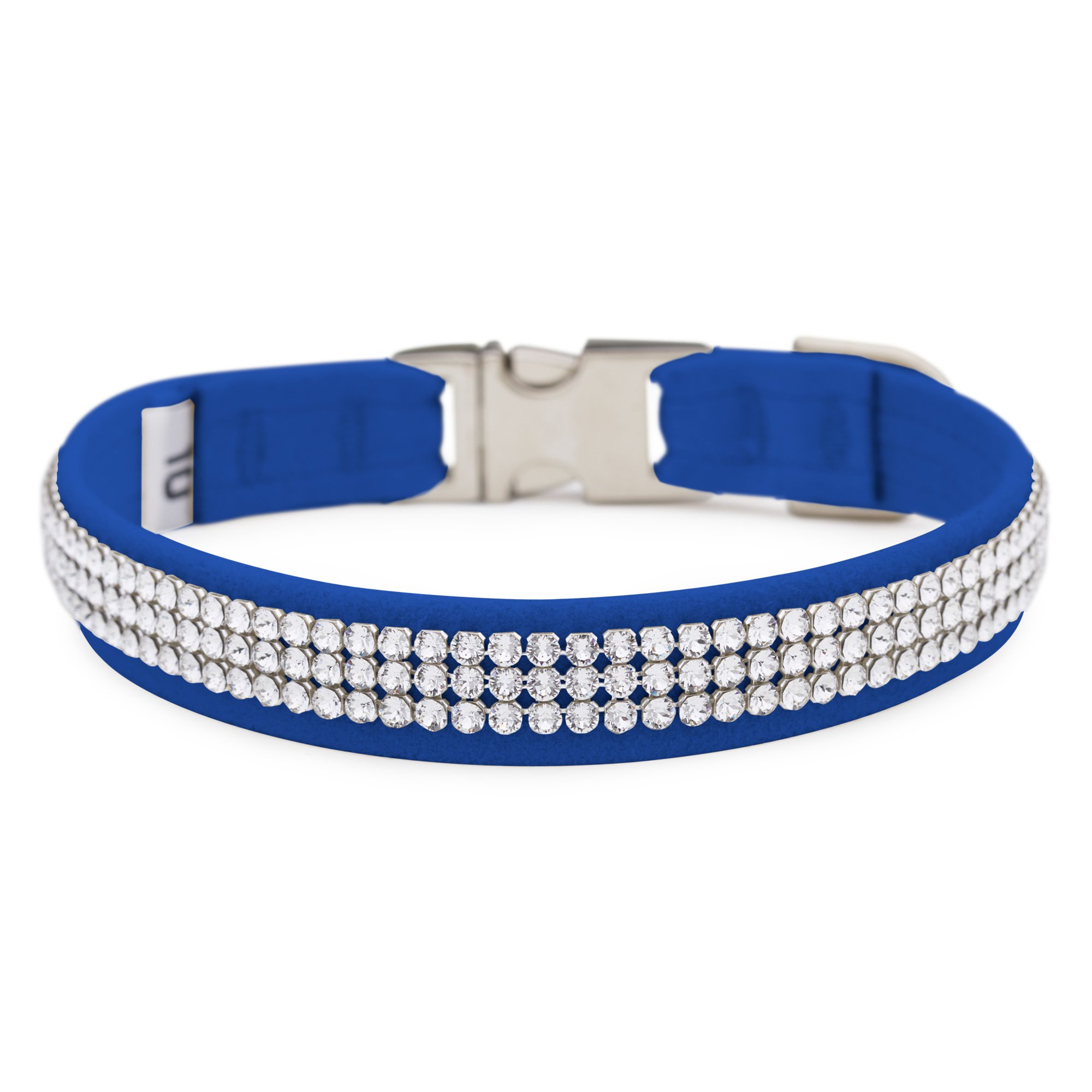 Royal Blue 3 Row Giltmore Perfect Fit Collar