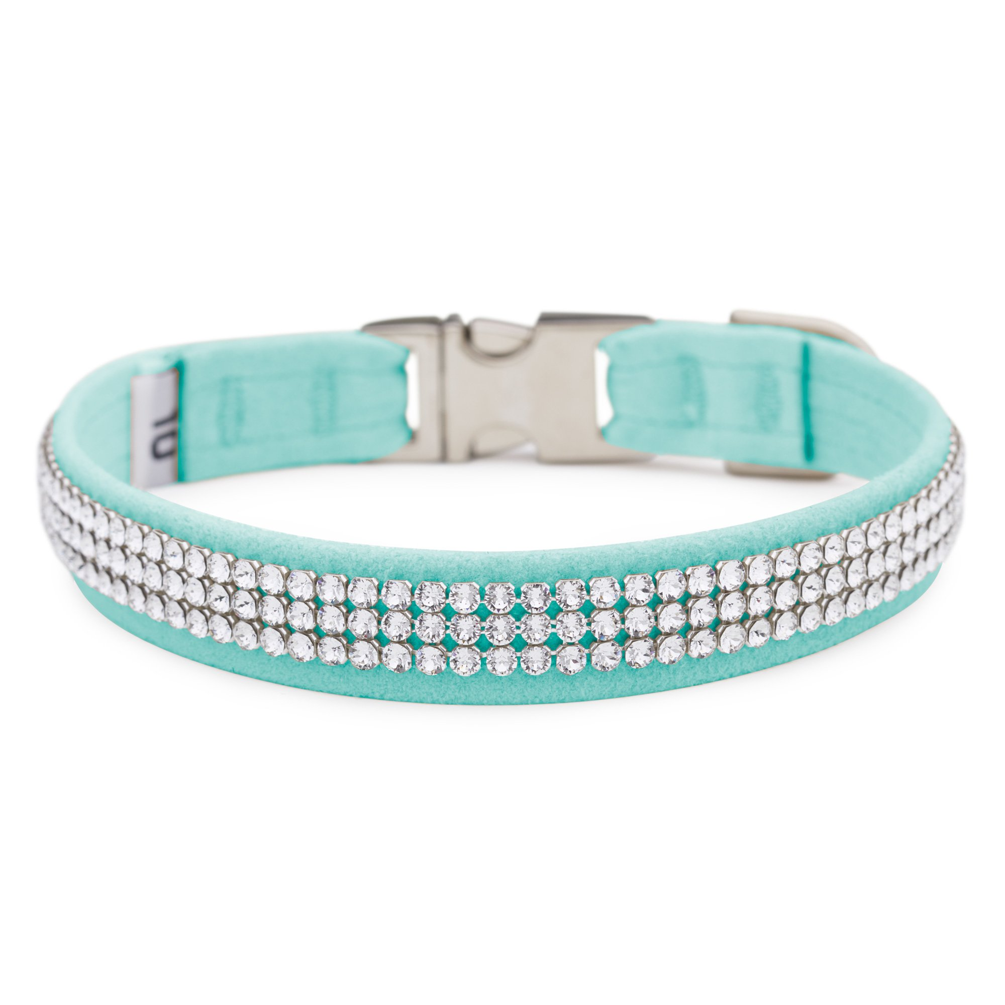 Tiffi Blue 3 Row Giltmore Perfect Fit Collar