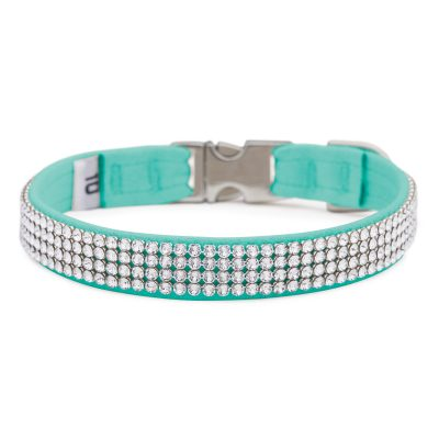 Bimini Blue 4 Row Giltmore Perfect Fit Collar