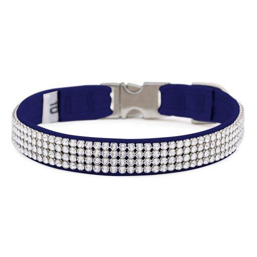 Indigo 4 Row Giltmore Perfect Fit Collar