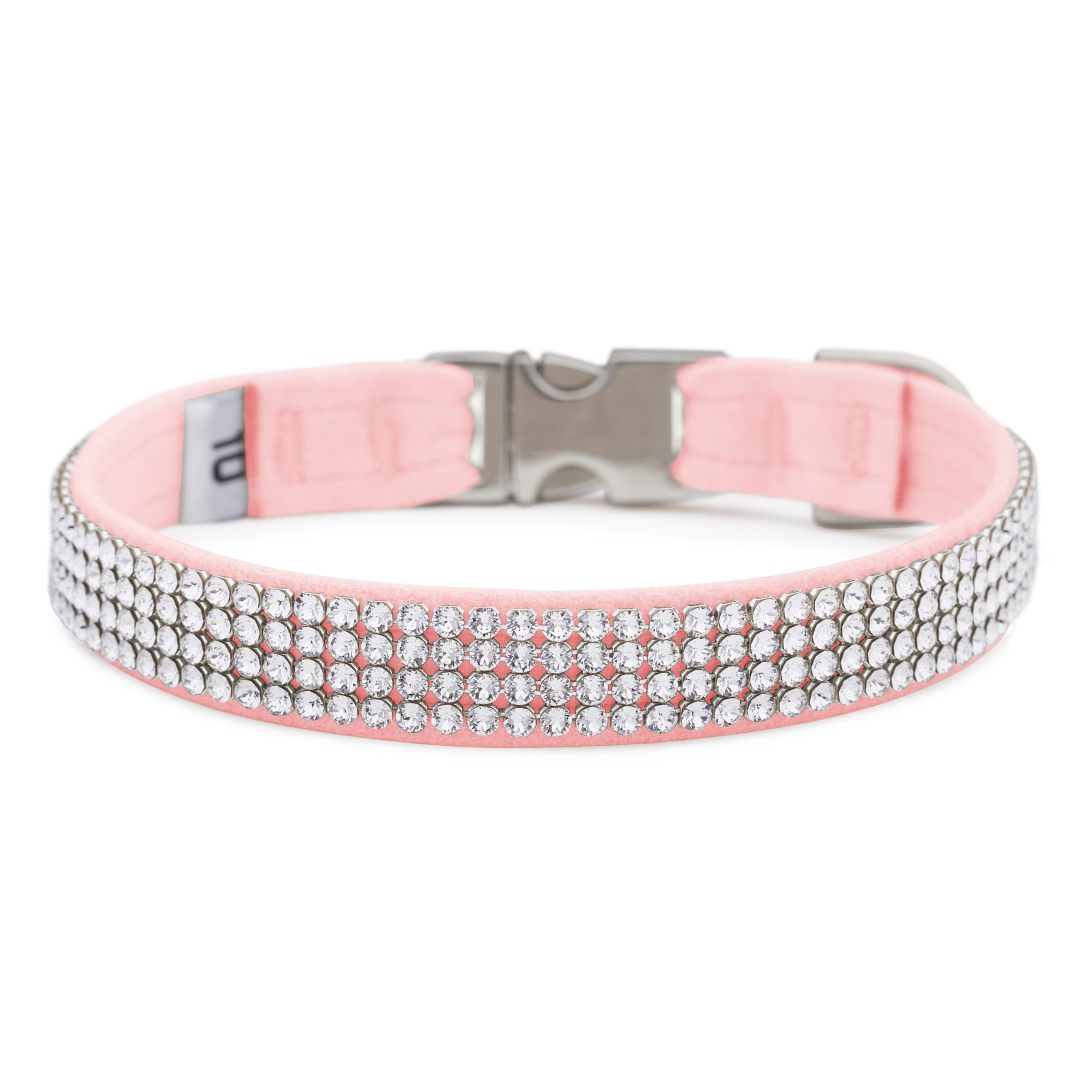 Puppy Pink 4 Row Giltmore Perfect Fit Collar
