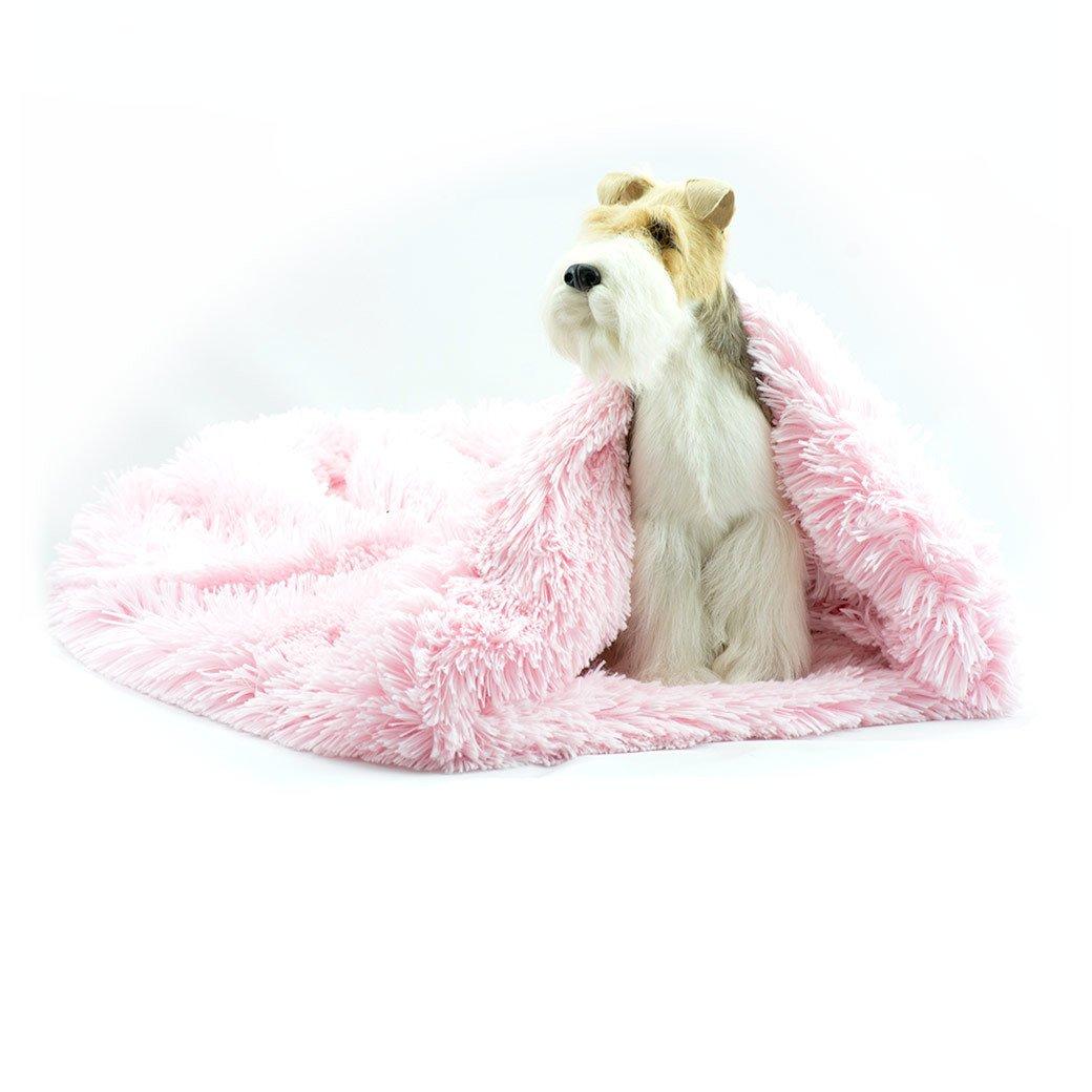 Puppy Pink Shag Cuddle Cup