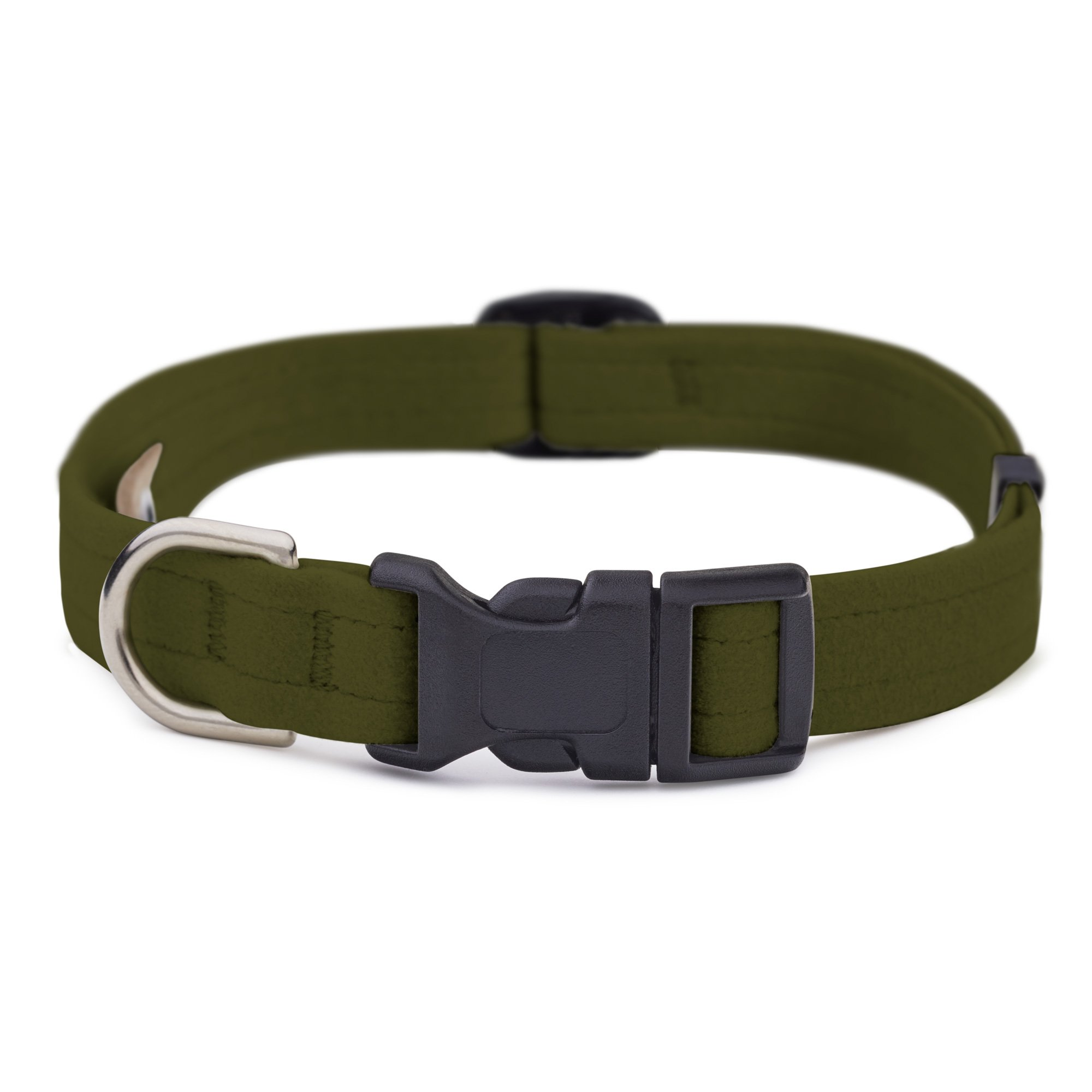 Olive Quick Release Collar