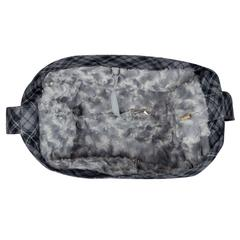 Scotty Charcoal Plaid Cuddle Carrier