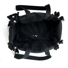 Luxury Purse Black with Fringe