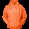 Dog Heartbeat Unisex Hoodie
