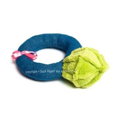 A Diamond Ring Dog Toy