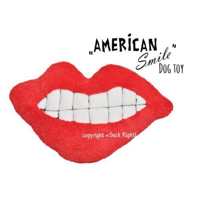 American Smile Dog Toy