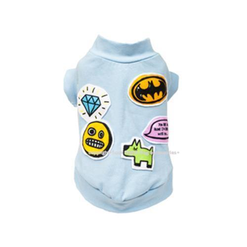 Batman And Emoji Dog Shirt