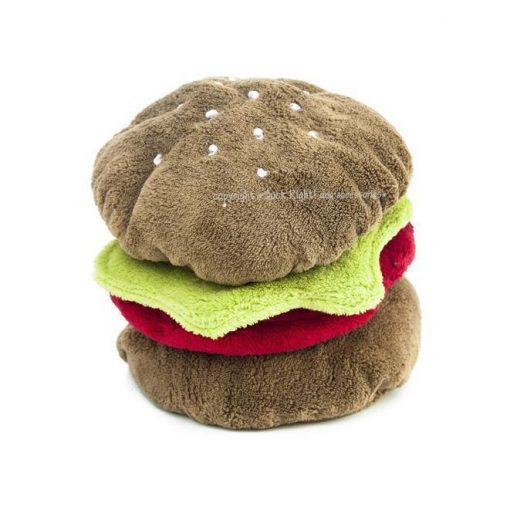 Burger Dog Toy