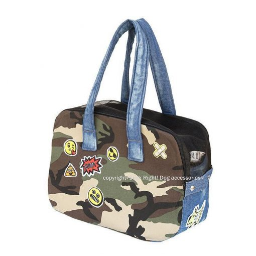 Camo Emoji Dog Carrier