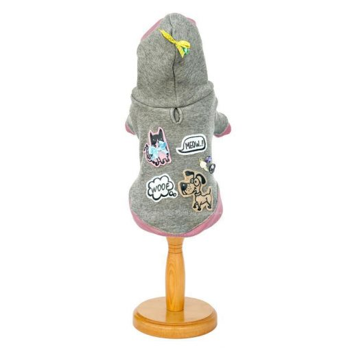 Cats And Dogs Hooded Dog Pullover