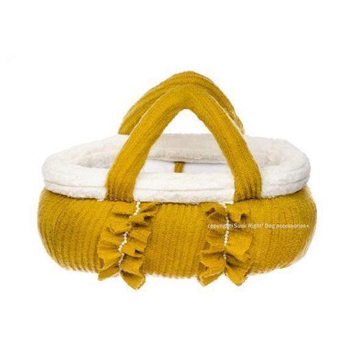 Classy Basket Dog Carrier