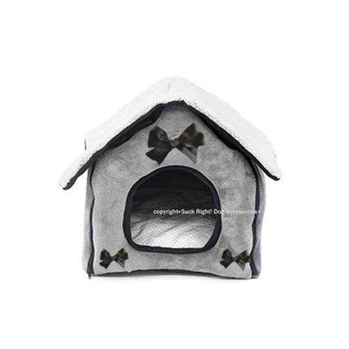 Cottage Dog House Dog Bed