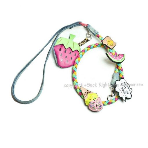 Crazy Ice Cream Dog Leash