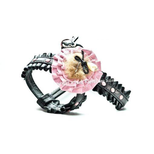 Custom Betty Page Sliding Dog Harness