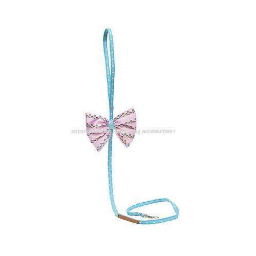 Dotty Pony Bow Dog Leash