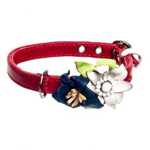 Edelweiss Gentiana Dog Collar