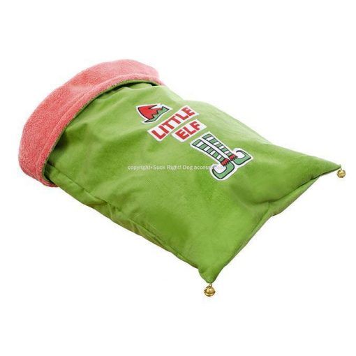 Elf Sleeping Bag Dog Bed