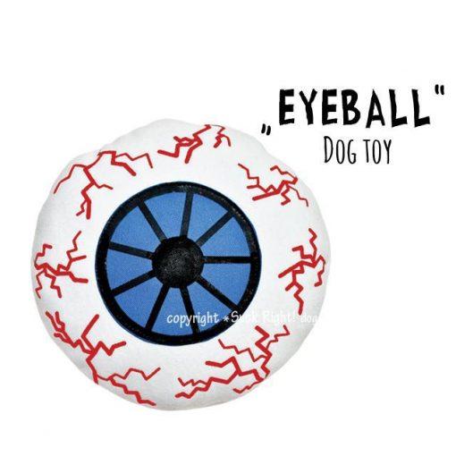 Eyeball Dog Toy