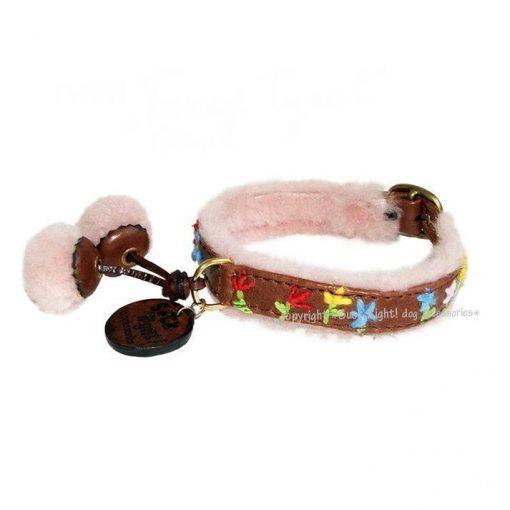 Fancy Tyrol Dog Collar