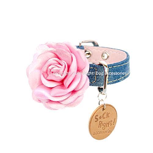Fashion Rose Dog Collar