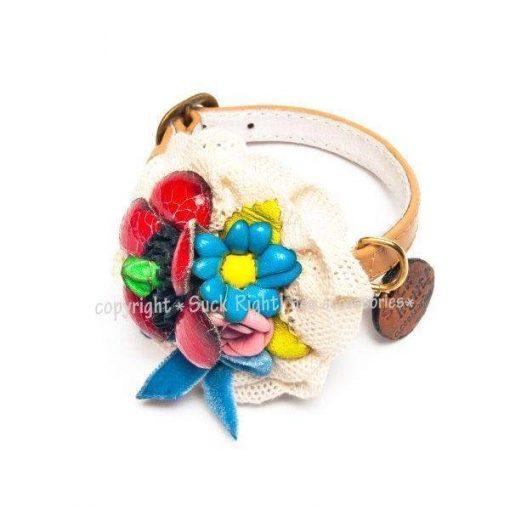 Field Bouquet Dog Collar