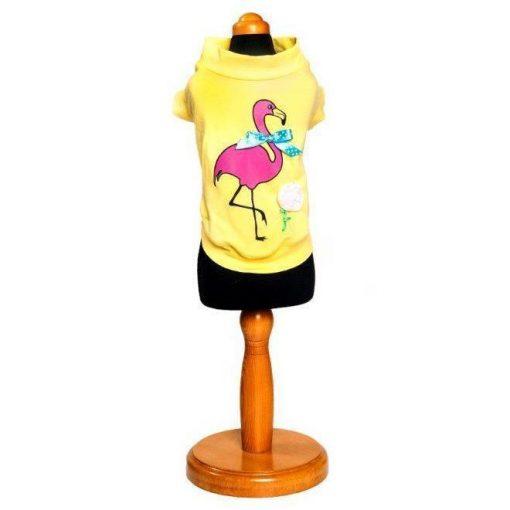 Flamingo Dog Shirt