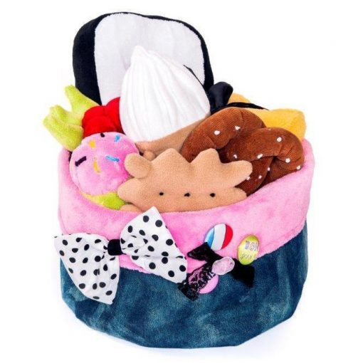 Flamingo Dog Toy Box