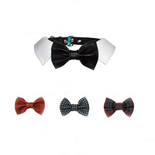 Frank Sinatra Bow Dog Collar