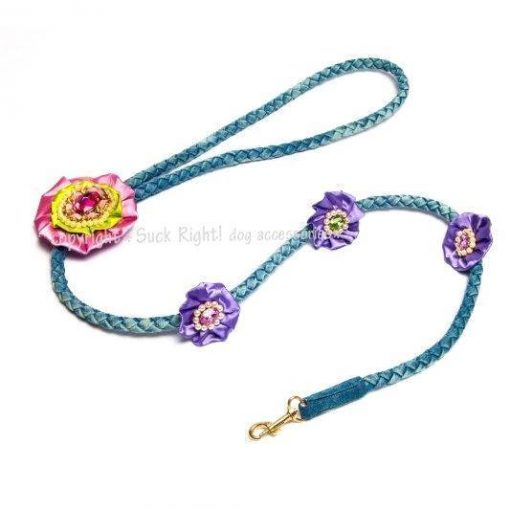 Glamour And Pink Nail Dog Leash