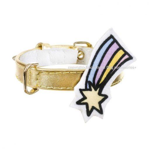 Golden Pony Dog Collar