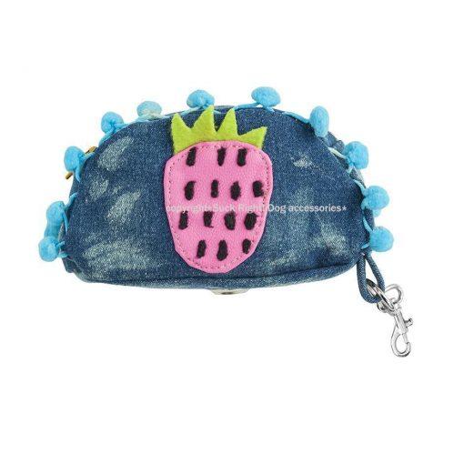 Hey Strawberry Dog Poop Bag Holder