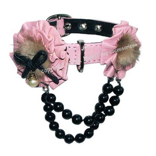 Jackie O Dog Collar