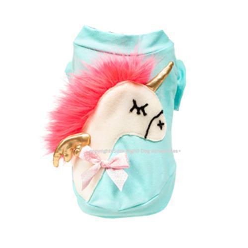 Neon Pink Hair Pony Dog Shirt