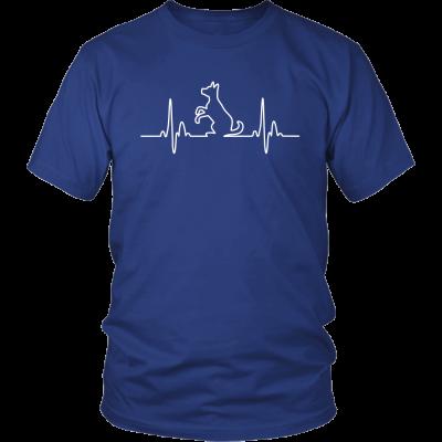 Dog Heartbeat Unisex Tee