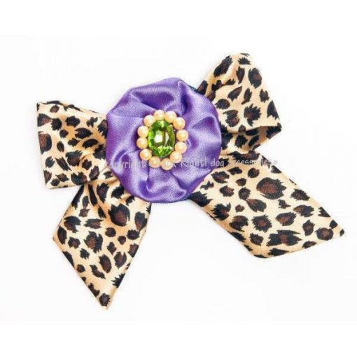 Ocelot Bow Brooch