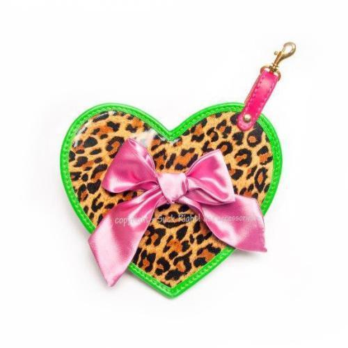 Ocelot Heart Dog Poop Bag Holder