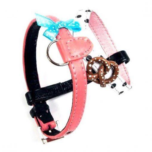 Paris Pretzel Dog Harness