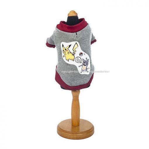 Pokemon Dog Pullover