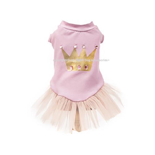 Princess Crown Dog Dress