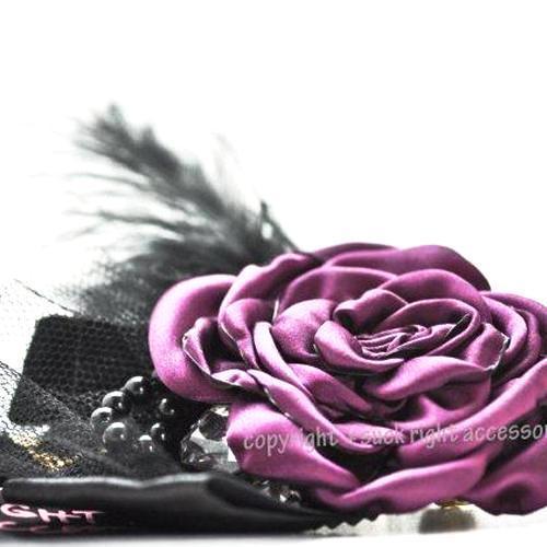 Purple Coco Dog Necklace