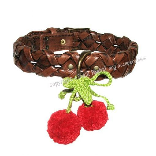 Red Cherry Dog Collar